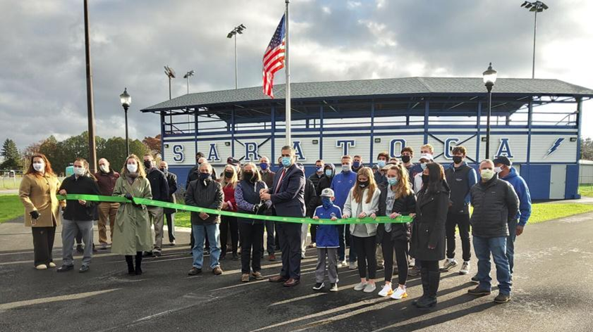 East Side Rec Ribbon Cutting Ceremony