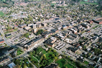 Aerial Photo of Saratoga Springs