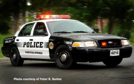 Saratoga Springs Police Department marked unit