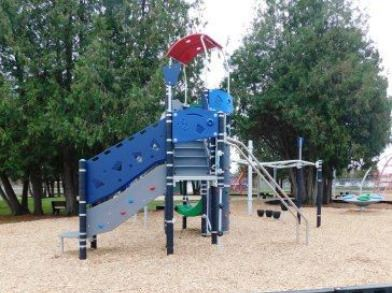 West Side Rec New Playground Equipment