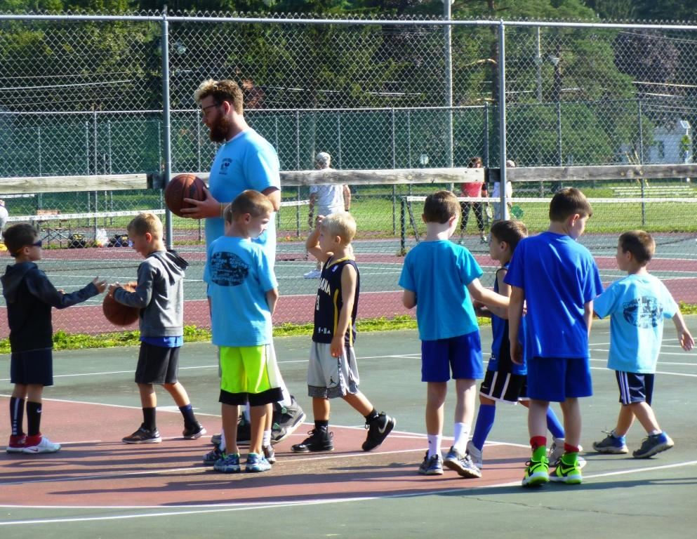 Ryan with Boys Summer Clinic