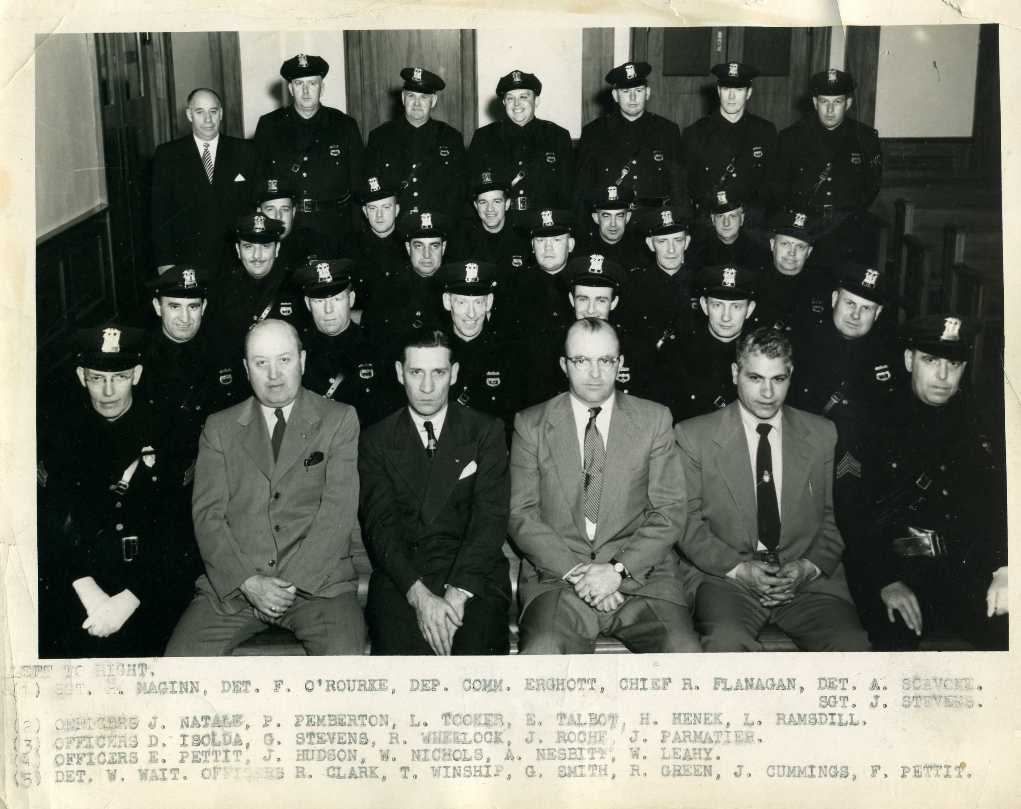 1950s police group photo